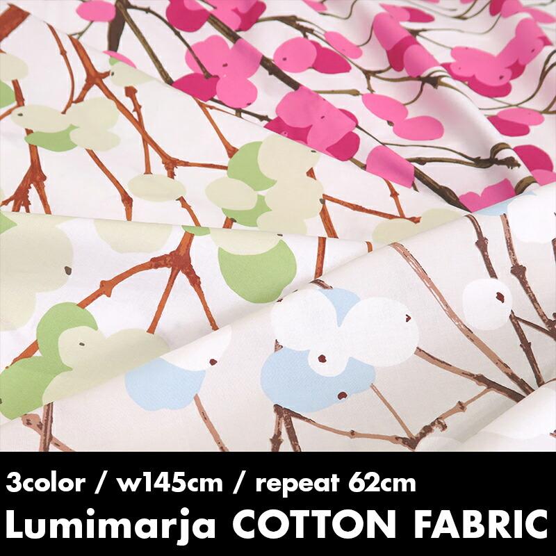 Cotton fabric LUMIMARJA