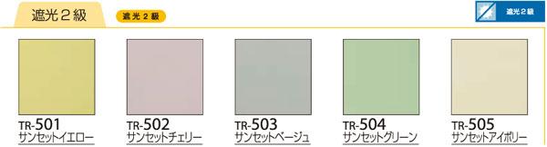 オリジナルロールスクリーン BLACK OUT 遮光2級 チェーン式