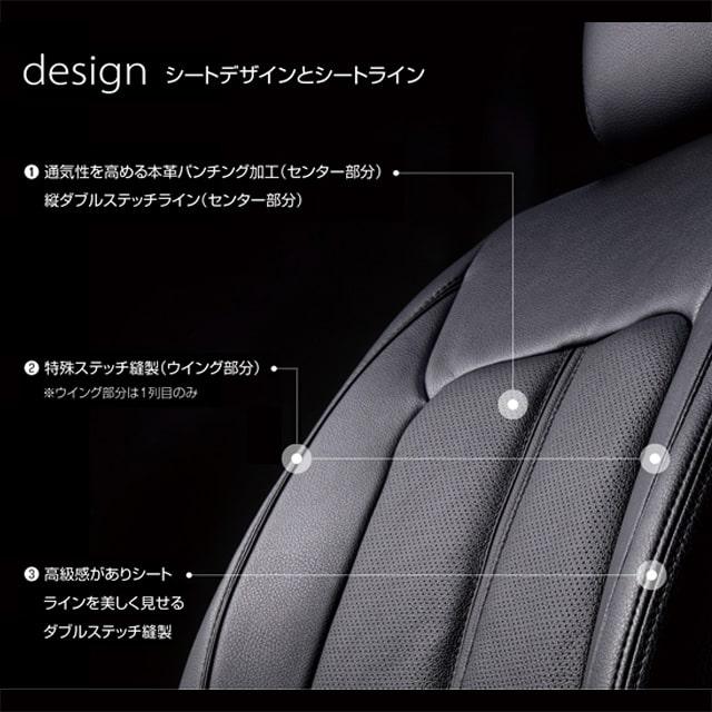 通気性を高める歩mm側パンチング加工 ダブルステッチ縫製