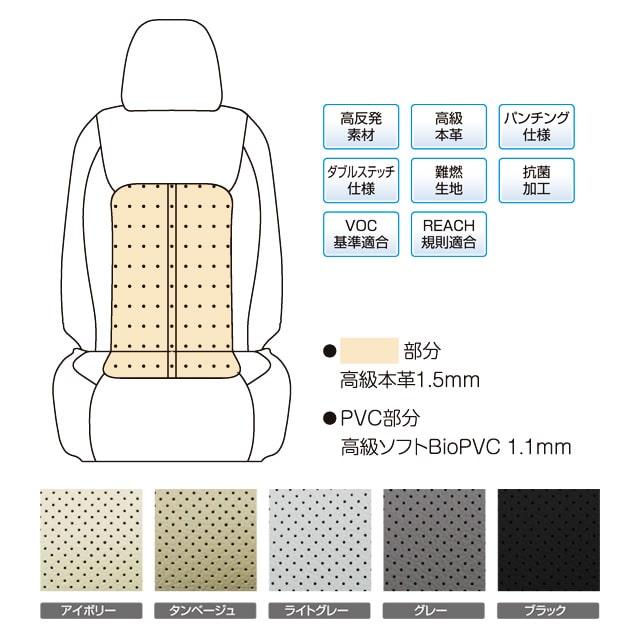 高反発素材 高級本革 パンチング仕様 ダブルステッチ仕様 難燃生地 抗菌加工 VOC基準適合 REACH規則適合