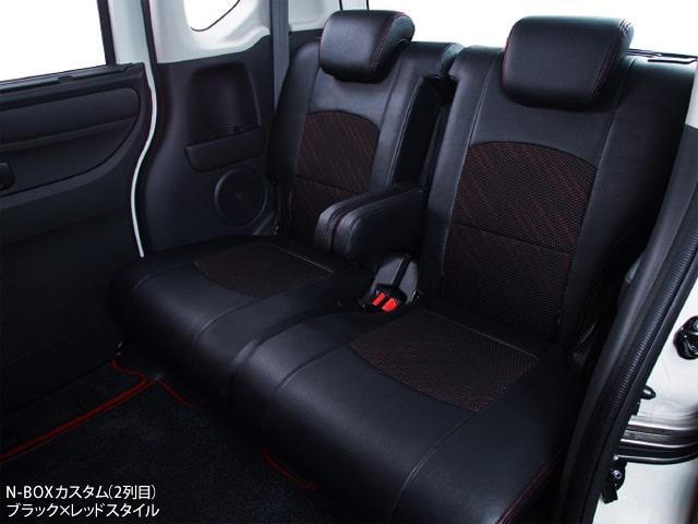 シートカバー CLAZZIO ブラック×レッドスタイル