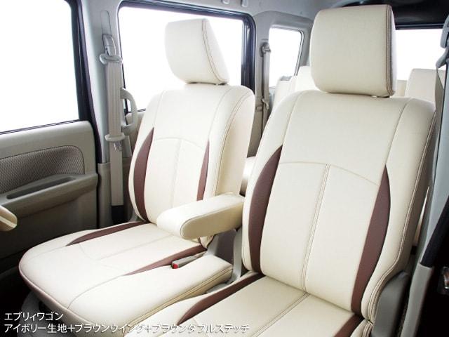 シートカバー CLAZZIO ライトグレー ブラウン