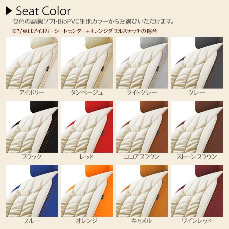 12色の高級ソフトBioPVC生地カラー