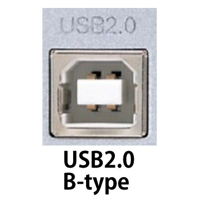 USB2.0 B-type