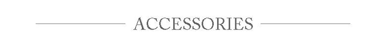 ACCESSORIES アクセサリー