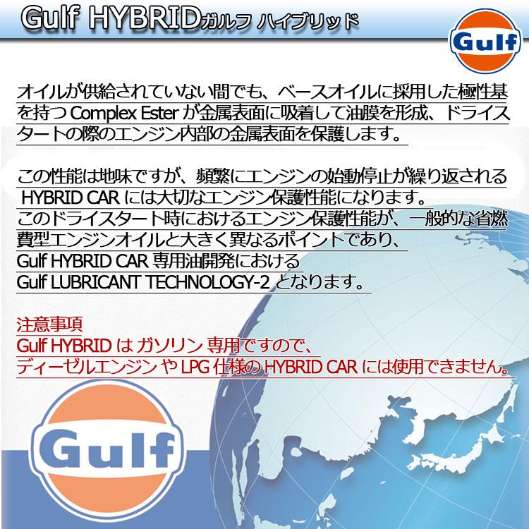 GulfHYBRIDはガソリン専用