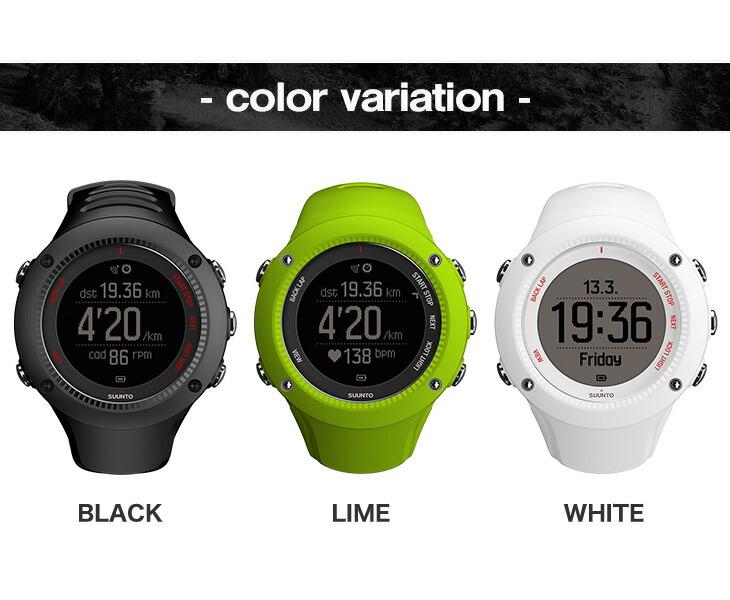 ecbdff795c SUUNTO スント デジタル時計 腕時計 AMBIT3 RUN アンビット3 ラン 並行輸入 S021256000 S021260000  S021258000