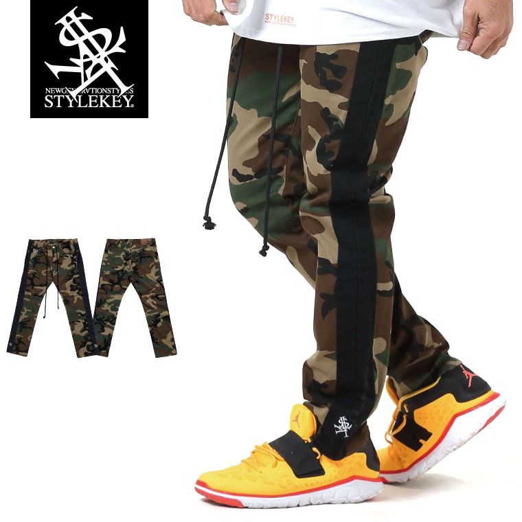 CAMOUFLAGE LINE SKINNY PANTS