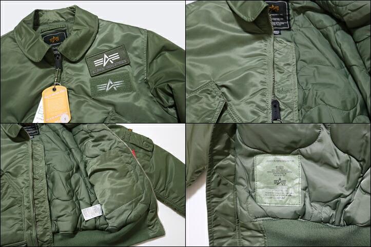 【ALPHA】 CWU-45/P FRIGHIT JKT