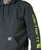 【Carhartt】  Midweight Signature Sleeve Logo Hooded
