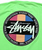 【STUSSY】 Surfman Dot S/S Tee