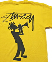 【STUSSY】ALL THAT JAZZ PIG. DYED TEE