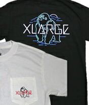 【XLARGE】LOOKOUT SS TEE