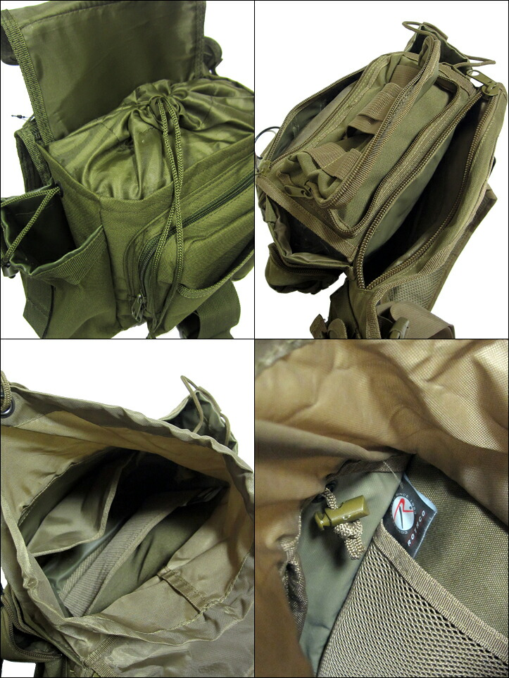 【ROTHCO】 ロスコADVANCED TACTICAL BAG