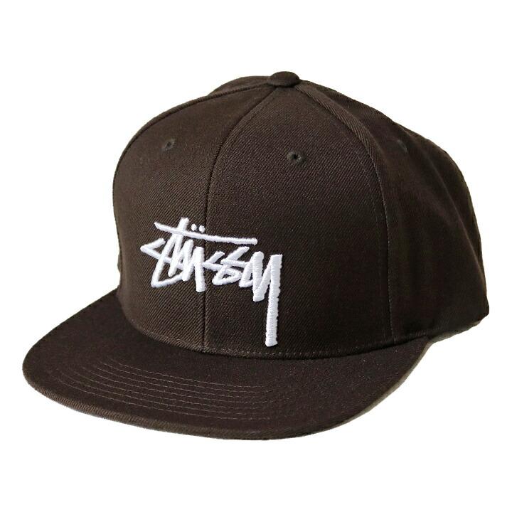 【STUSSY】 STUSSY STOCK CAP
