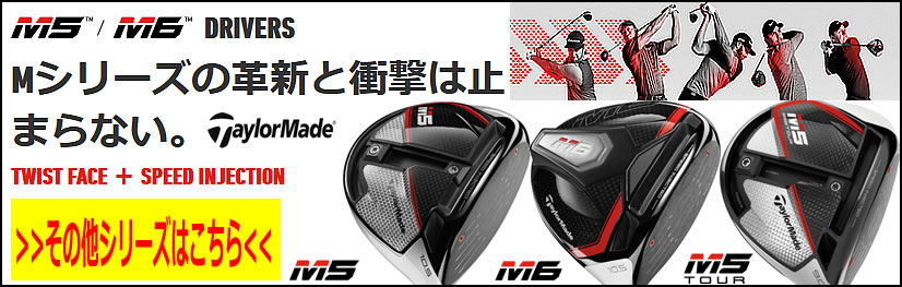 【2月発売 予約販売】テーラーメイド M6 M5 2019年モデル【ゴルフクラブ】