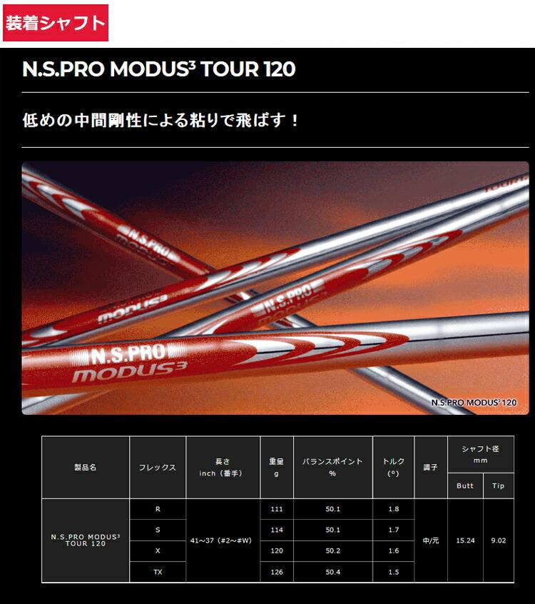 (特注品/納期約8週間)タイトリスト Tシリーズ アイアン T100 5本セット(#6-#9、P) N.S.PRO モーダス3 ツアー120(ゴルフクラブ)