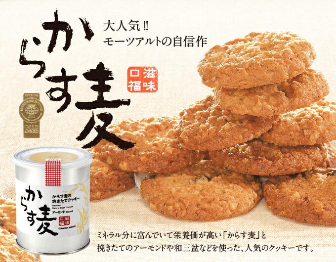 からす麦焼き立てクッキー