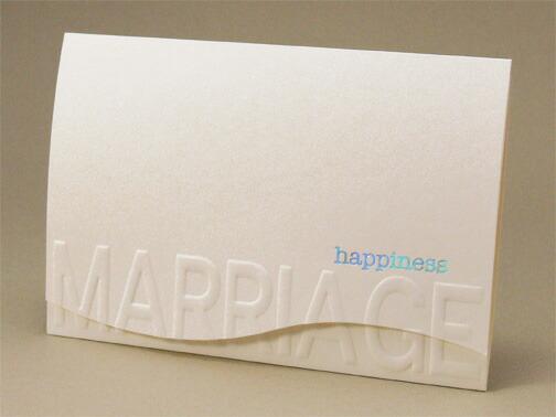 マリエージ招待状セット【印刷なし・手作りキット】