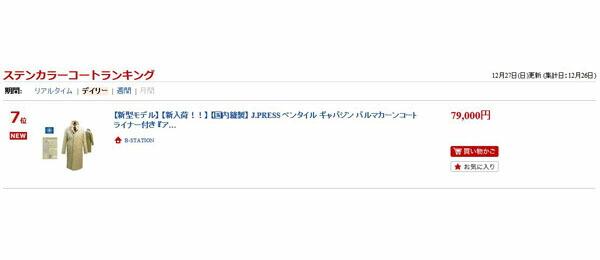 """『ランキング""""7位""""入賞しました!!』"""