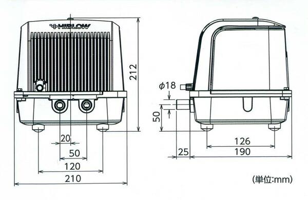 ブロアー テクノ高槻XP80