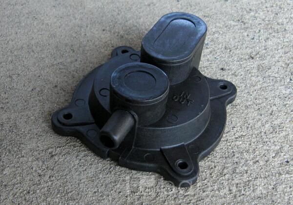ブロアー安永ダイヤフラム式補修部品/旧LP150・200 詳細図