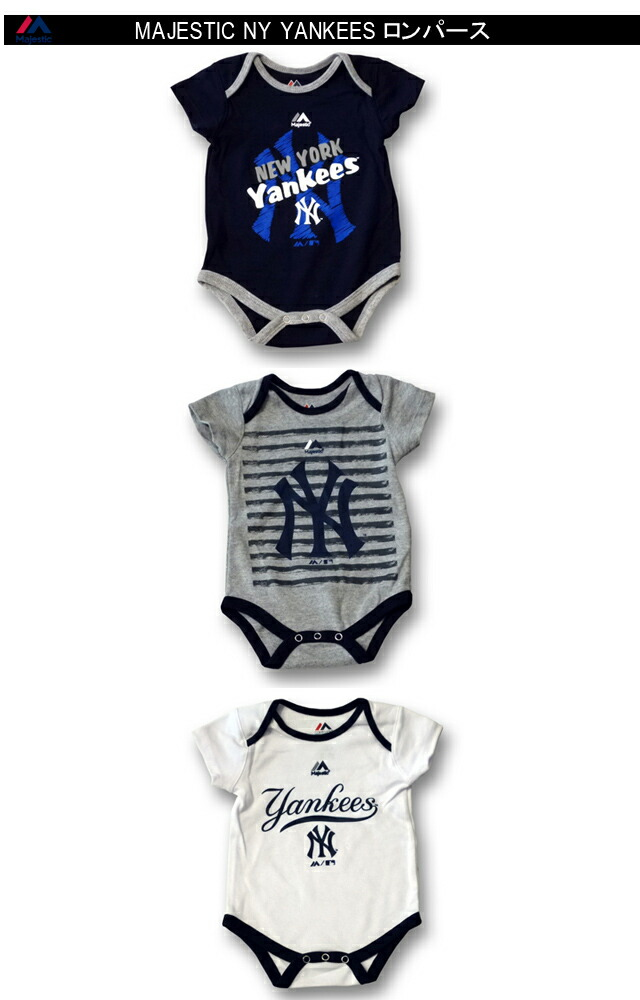 New York Yankees Homemade baby bodysuit.