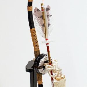 銀太刀一本矢弓太刀