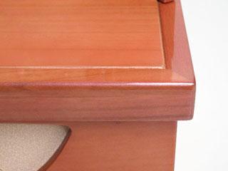 木目込人形飾りの雛人形コンパクト収納飾り台