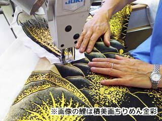生地の縫製工程