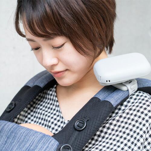 ベビーカー&ベビーキャリア用ポータブル扇風機/BabyHopper(ベビーホッパー)