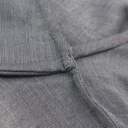 お肌に縫い目が当たらないよう、できるだけ「袋縫い」に
