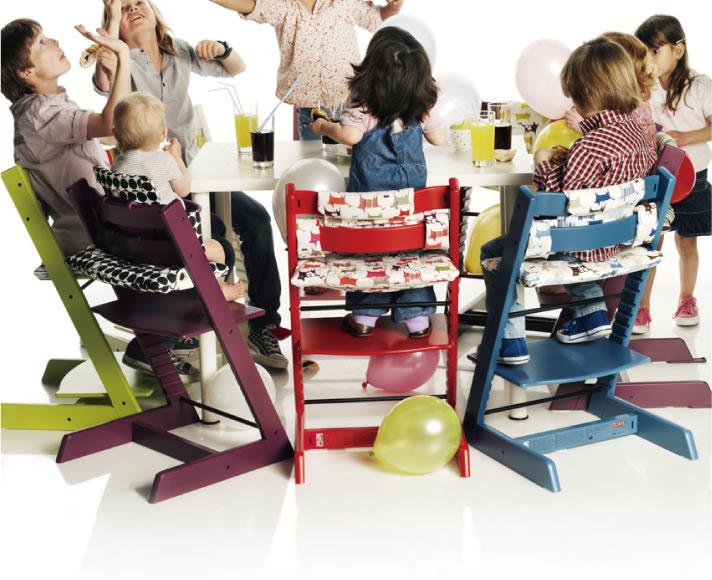 トリップ トラップ ベビーセットは、つながりを大切にする北欧ブランドで、商品は、子供と共に成長するようデザインされています。