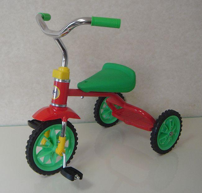 豆ダッシュ三輪車 レッドの画像