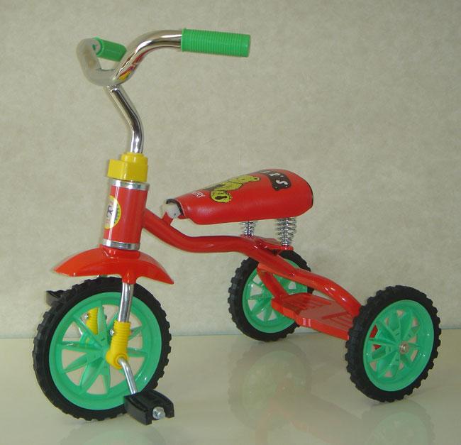 ベアーズ  豆ダッシュ三輪車 レッドの画像
