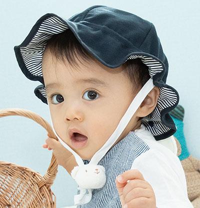 ベビー帽子