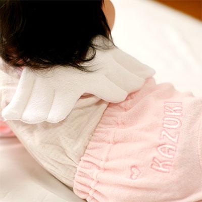 天使のスタイとパンツのセット