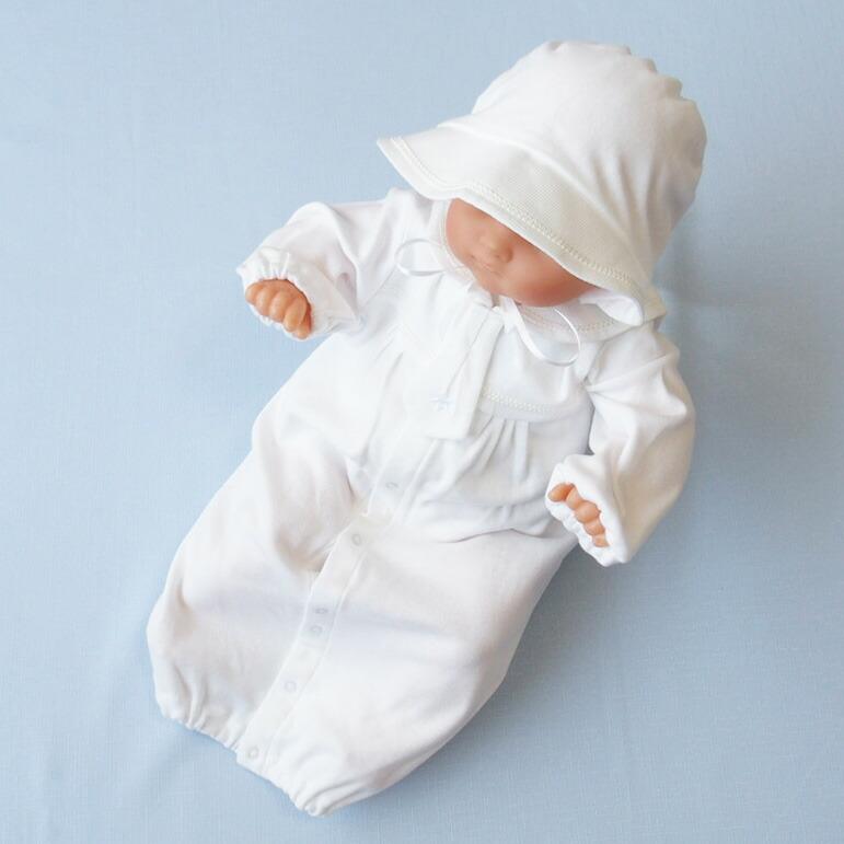 eb62d57fc8f37 総丈50センチ 肩幅21センチ 身幅27センチ 袖丈20センチ*当店取扱いのベビードレス(サイズ表示50-70)では、標準的な大きさです。 *着用期間は 新生児から6ヶ月を目安 ...