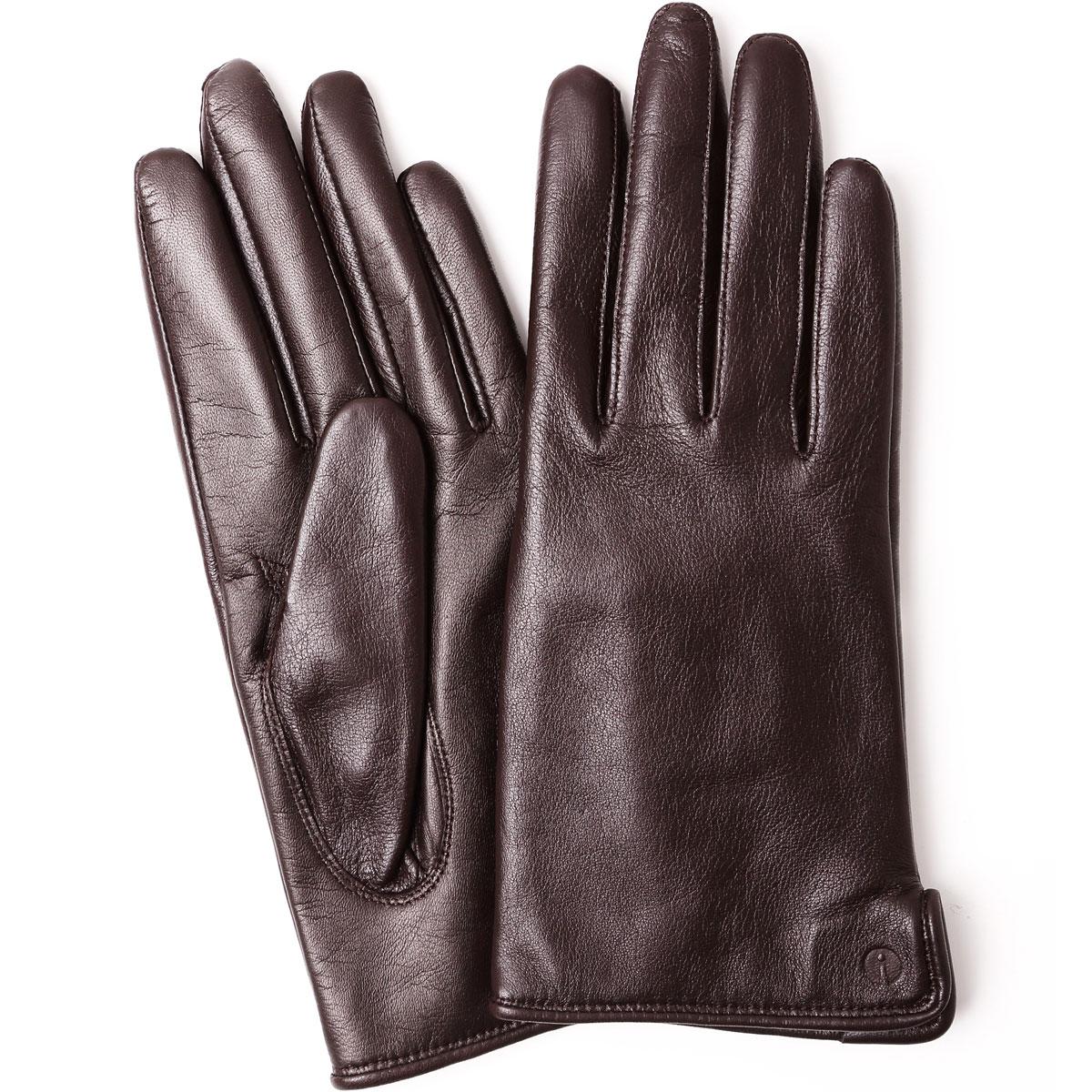 手袋 アイタッチグローブ Leather S レディース 2019-2020新作 スマートフォン・タブレット対応 機能性手袋 スマホ タッチパネル対応 iTouch Gloves 本革レザー Sサイズ 女性用 ブラウン