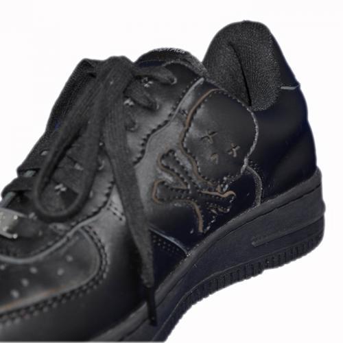 Ain Force 1 Lowcut 2 Plain(W) ファッション メンズ レディース ユニセックス 靴 スニーカー ローカット フォースワン バッシュ スカル スワロフスキー カジュアル ストリート スポーツ