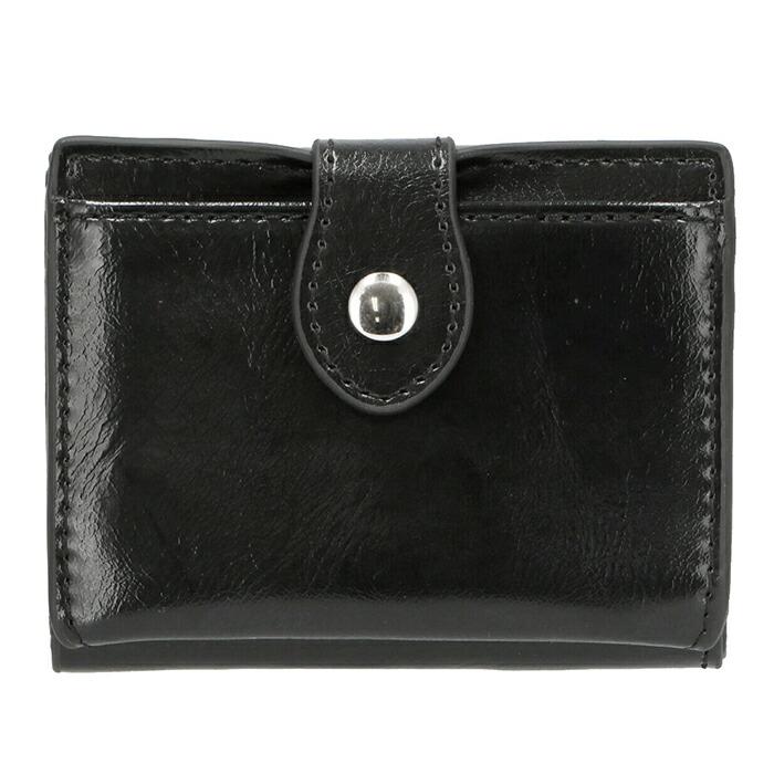 極小 ミニ 三つ折り財布