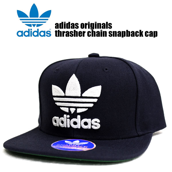 Sold out! Adidas originals caps mens Womens hats adidas originals men  THRASHER CHAIN CAP slasher Cap Navy / white street of fashion sports  snowboarding ...