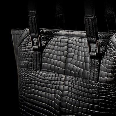 【池田工芸】日本最大のクロコダイル専門店が贈るAll Crocodile Tote Bag(オールクロコダイルトートバッグ)C5050-4【6月20日頃出荷】
