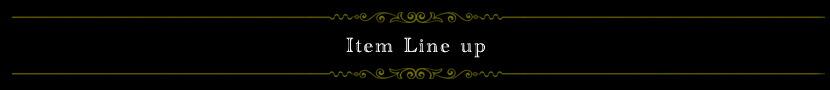 Item Line up