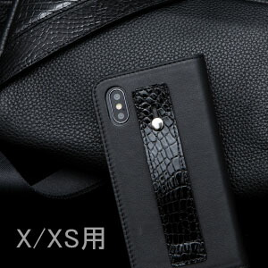 【池田工芸】日本最大のクロコダイル専門店が贈るCrocodile iPhoneケース リッチver.(X/Xs 用)(クロコダイル アイフォンスマホケース)【3月10日頃出荷】