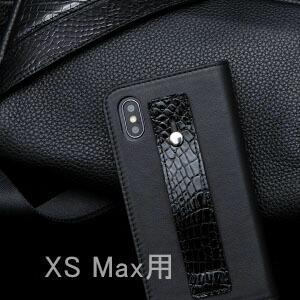 【池田工芸】日本最大のクロコダイル専門店が贈るCrocodile iPhoneケース リッチver.(Xs Max用)(クロコダイル アイフォンスマホケース)【3月10日頃出荷】