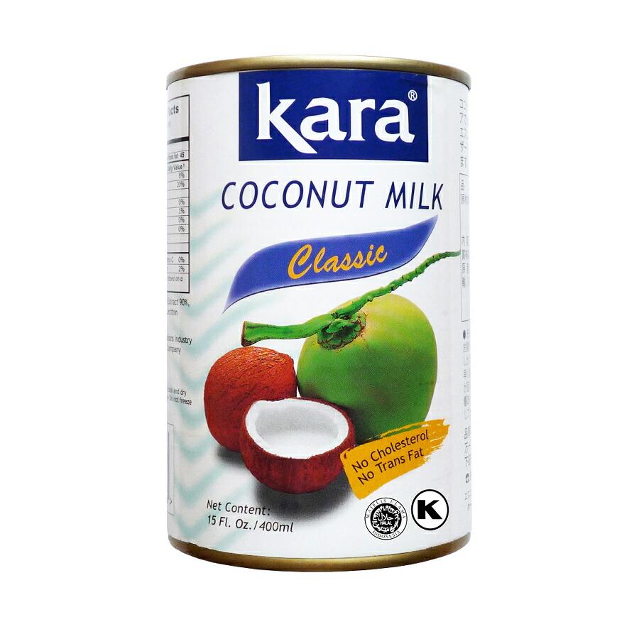 カラ ココナッツミルク EO缶 400ml
