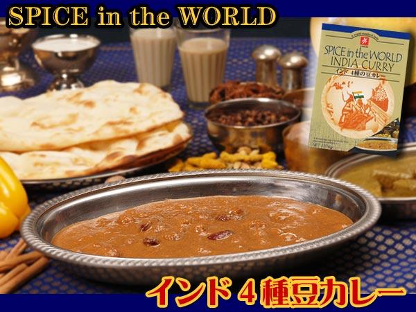 インド4種の豆カレー