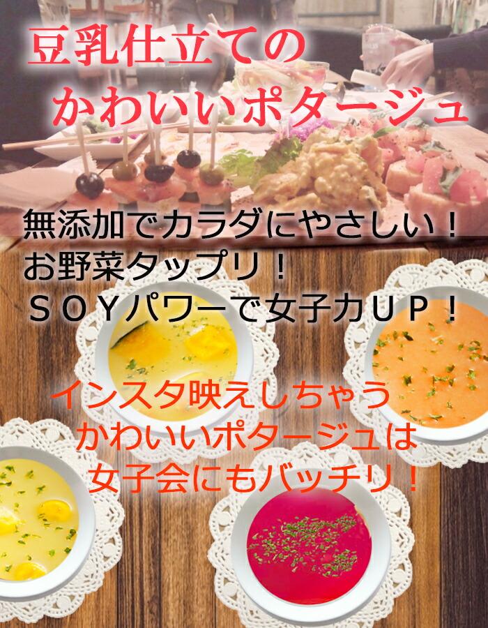 ソイズデリ 豆乳と野菜の無添加スープ 4種 12箱セット