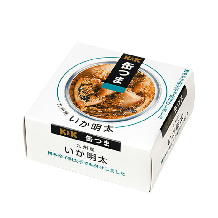 レトルト惣菜  缶つま 九州産いか明太45g